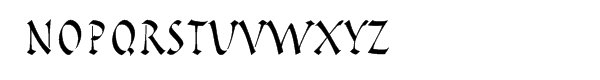 Pompeijana™ Roman Package Font LOWERCASE