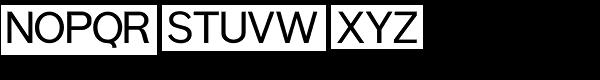 Pont Font UPPERCASE