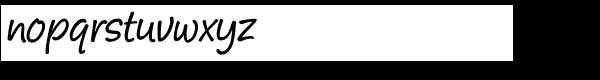 Pony Tale Pro Font LOWERCASE