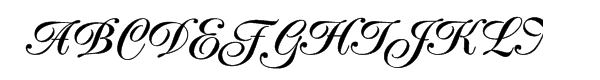 Poppl Exquisit Medium Font UPPERCASE