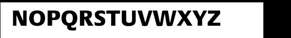 Praxis® Pro Heavy Font UPPERCASE