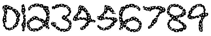 Pretzel Font OTHER CHARS