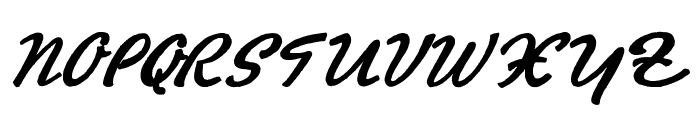 PromotionScript Font UPPERCASE