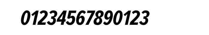 Proxima Nova Extra Condensed Bold Italic Font OTHER CHARS