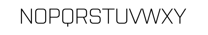 Purista Light Font UPPERCASE