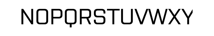 Purista Medium Font UPPERCASE