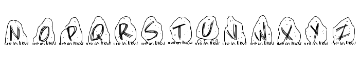 PWDolmen Font UPPERCASE