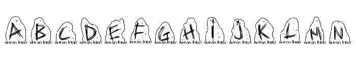 PWDolmen Font LOWERCASE