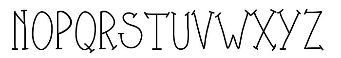 PWShesAmazing Font UPPERCASE
