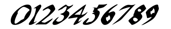 QuaelGothicItalics Font OTHER CHARS