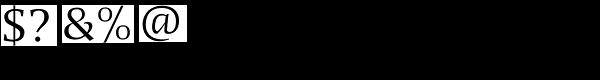 Quaestor Sans Font OTHER CHARS
