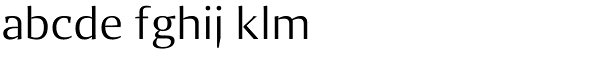 Quaestor Sans Font LOWERCASE