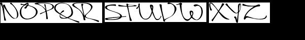 Queen Font UPPERCASE