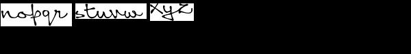 Queen Font LOWERCASE