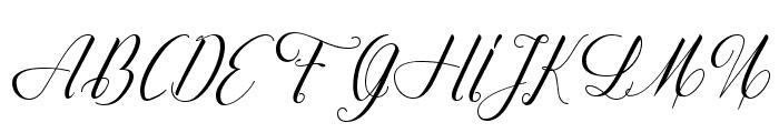 QuestionandLove Font UPPERCASE