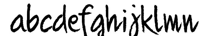 Quikhand 1.1 Font LOWERCASE