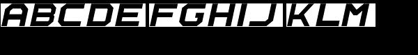 Rally-Italic-Regular Font UPPERCASE