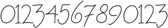 raspberrygranola ttf (400) Font OTHER CHARS