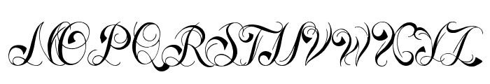 Ready Black Font UPPERCASE