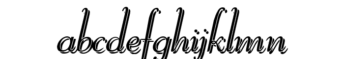 ReliantShadowFree Font LOWERCASE