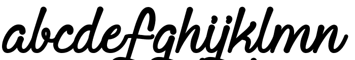 Requited Script Demo Font LOWERCASE