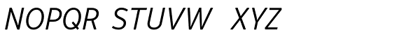 Respublika FY Light Italic Font UPPERCASE