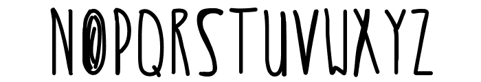 RetroElectro Font LOWERCASE