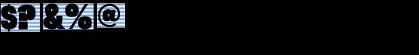 Rhode Black Condensed Font OTHER CHARS