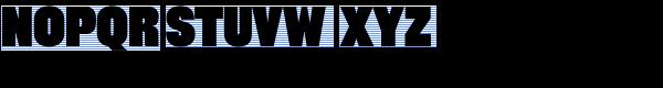 Rhode Black Condensed Font UPPERCASE