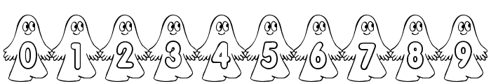 rmghost4  graphic Font OTHER CHARS