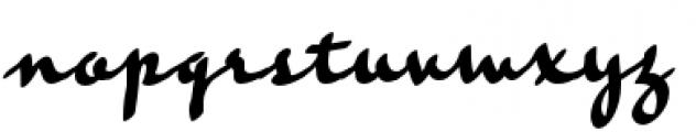 Rosie Font LOWERCASE
