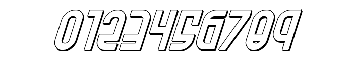 Ro'Ki'Kier Shadow Italic Font OTHER CHARS