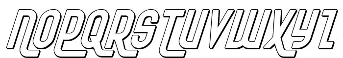 Ro'Ki'Kier Shadow Italic Font UPPERCASE