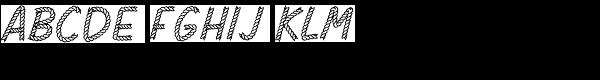 Rodeo Rope Superchunk-Regular Font UPPERCASE