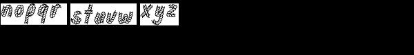 Rodeo Rope Superchunk-Regular Font LOWERCASE