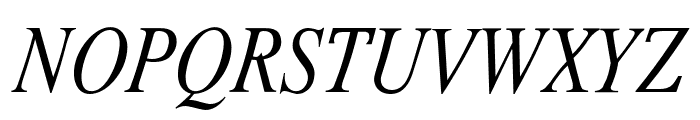 Romande ADF No2 Std Italic Font UPPERCASE