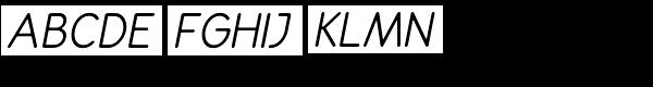 Rondell Italic Font UPPERCASE