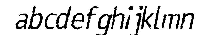 Rosango Italic Font LOWERCASE
