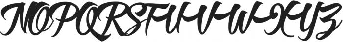 Roverd Regular ttf (400) Font UPPERCASE