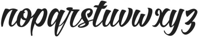 Roverd Regular ttf (400) Font LOWERCASE