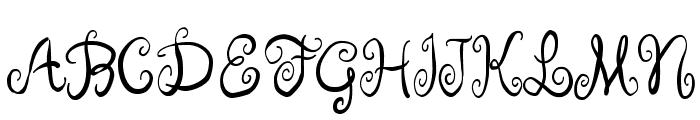Ruge Boogie Font UPPERCASE
