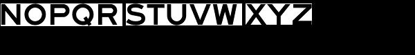 Saa Series F D Font LOWERCASE