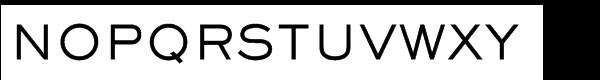 Sackers™ Gothic Std Medium Font UPPERCASE
