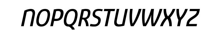 Sancoale Medium Italic Font UPPERCASE