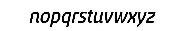Sancoale Medium Italic Font LOWERCASE