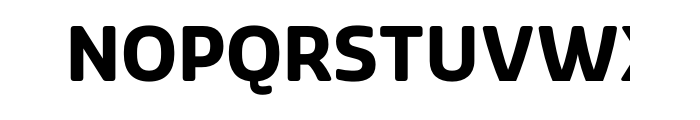 Sansa Soft Bold OTF Pro Font UPPERCASE