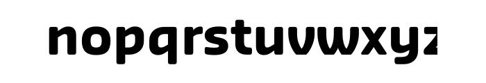Sansa Soft Bold OTF Pro Font LOWERCASE