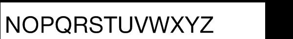 Saral™ Devanagari Roman Font UPPERCASE
