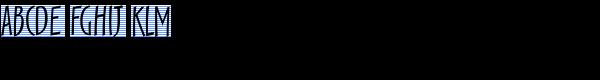 Scamp Regular Font UPPERCASE