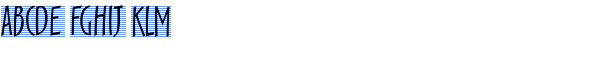 Scamp Regular Font LOWERCASE